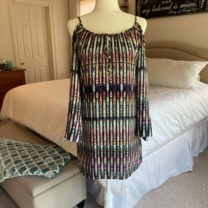 Beautiful Cold Shoulder Dress or Tunic